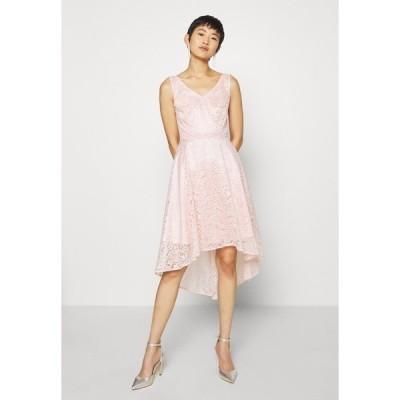 スウィング ワンピース レディース トップス Cocktail dress / Party dress - light rose