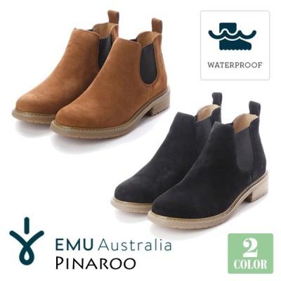 EMU Australia エミュー オーストラリア Pinaroo ピナロー サイドゴアブーツ 防水 レインブーツ スエード オールシーズン 品番 W11991 日本正規品