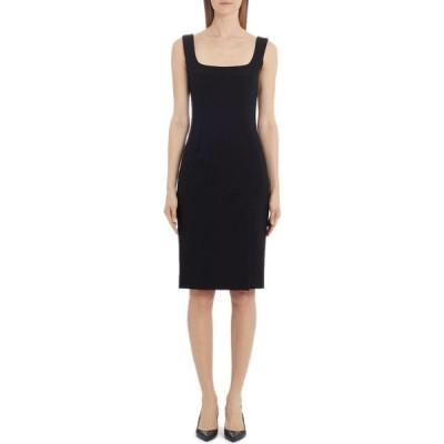 ドルチェ&ガッバーナ DOLCE&GABBANA レディース ボディコンドレス ワンピース・ドレス Jersey Body-Con Dress Black
