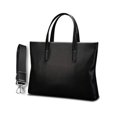 ZHAOTARPS Briefcases, Business Briefcase Men's Business Handbag Casual Simple Crossbody Shoulder Bag (Color : Black)【並行輸入品】