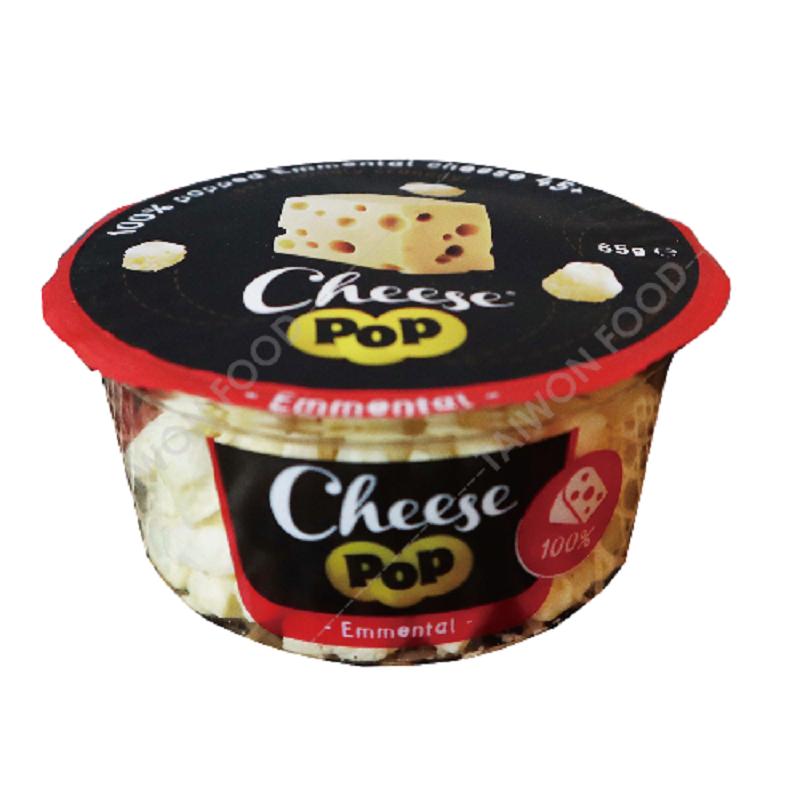 [臺旺食品] 起司爆爆Pop Cheese 艾曼塔乾酪 (65g/包) (奶素)