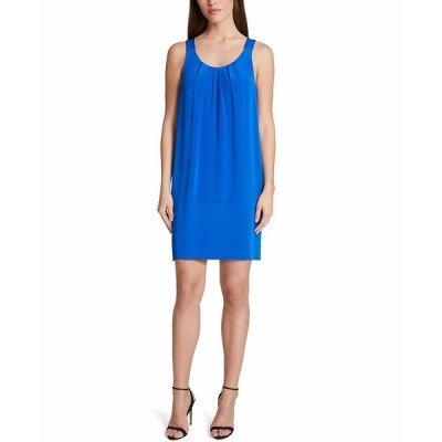 タハリエーエスエル  ワンピース トップス レディース Sleeveless Shift Dress Cobalt Blue