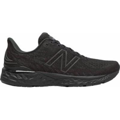 ニューバランス メンズ スニーカー シューズ New Balance Men's Fresh Foam 880 V11 Running Shoes Black/Black