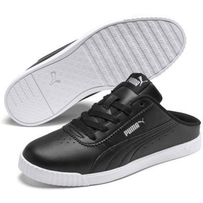 プーマ PUMA 371137 CARINA SLIM MULE クロッグサンダル スニーカー レディース 婦人 01 ブラック/ブラック 02 ホワイト/ホワイト 靴