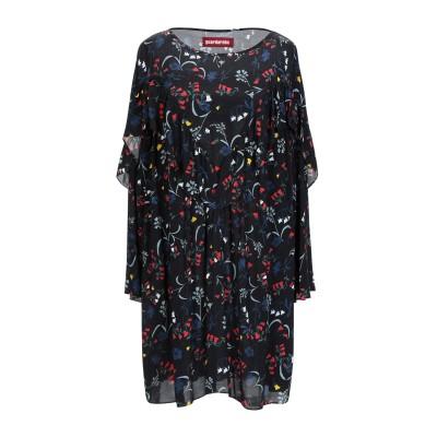 GUARDAROBA by ANIYE BY ミニワンピース&ドレス ブラック XS レーヨン 100% ミニワンピース&ドレス