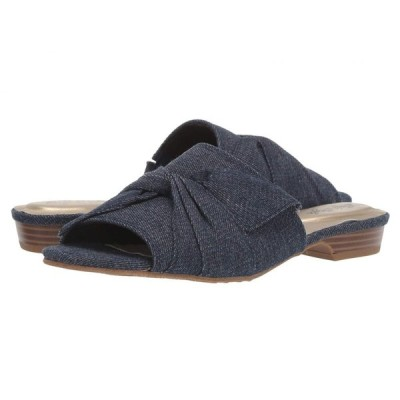 ソフトスタイル Soft Style レディース サンダル・ミュール シューズ・靴 Misti Indigo Denim