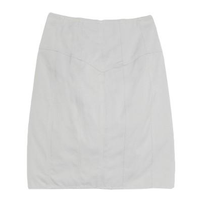 イザベル マラン ISABEL MARANT ひざ丈スカート グレー 34 コットン 100% ひざ丈スカート