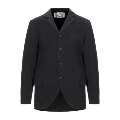 MADSON テーラードジャケット ブラック L コットン 96% / ポリウレタン 4% テーラードジャケット