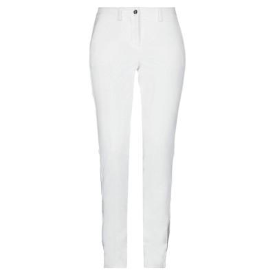 PHILIPP PLEIN パンツ ホワイト XS ポリエステル 88% / ポリウレタン 12% / 真鍮/ブラス / ガラス パンツ