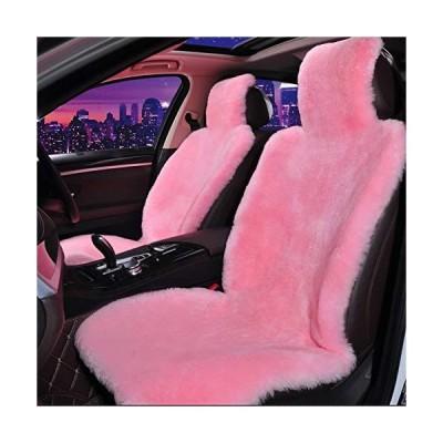 Genuine Sheepskin Seat Covers for Cars SUV Trucks Van RV Front Seats Real Sheepskin Car Seat Covers Fuzzy Fur Car Seat Covers Sheepskin Auto