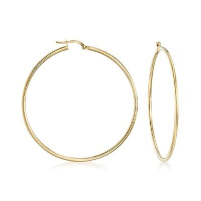Ross-Simons Italian 2mm 18kt Yellow Gold Large Hoop Earrings
