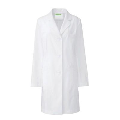 REP210 KAZEN レディス診察衣Sハーフ丈 ナースウェア・白衣・介護ウェア