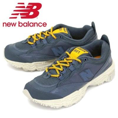 new balance (ニューバランス) ML801 BEA スニーカー NAVY NB667