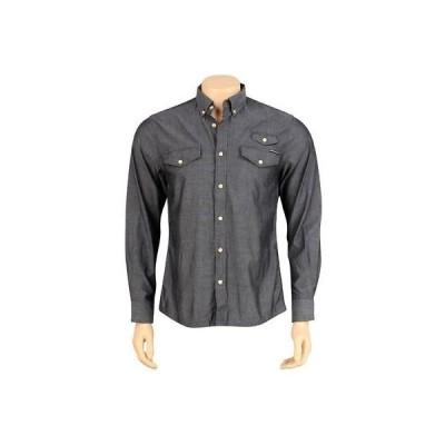 アクティブウェア トップス メンズ ハンドレッツ The Hundreds Butter Long Sleeve Shirt (black) T11F208062BLK