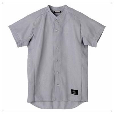 デサント 野球・ソフトボール用ユニフォームシャツ(SLV・サイズ:M) DS-STD51TA-SLV-M返品種別A