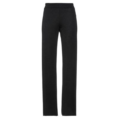 MOMONÍ パンツ ブラック 42 ポリエステル 60% / レーヨン 20% / ナイロン 15% / ポリウレタン 5% パンツ
