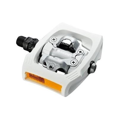 【送料無料】SHIMANO PD-T400 Track pedel White【並行輸入品】
