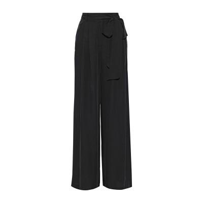 ミリー MILLY パンツ ブラック 2 レーヨン 70% / シルク 30% パンツ