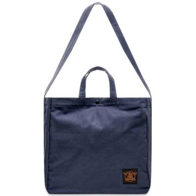 ザ リアル マッコイズ The Real McCoys メンズ ショルダーバッグ バッグ The Real McCoy's Eco Shoulder Bag Navy