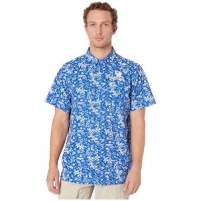 コロンビアカレッジ メンズ シャツ トップス Kentucky Wildcats CLG Super Slack Tide Shirt Azul