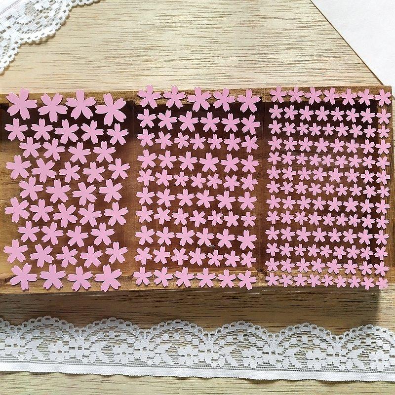 櫻花貼紙 3張組