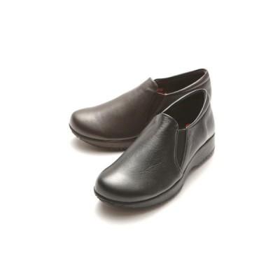 【再入荷 人気商品】ゴールデンフット レディースシューズ 315 4E  ラテックスソール ウォーキングシューズ 婦人靴 クッション性抜群