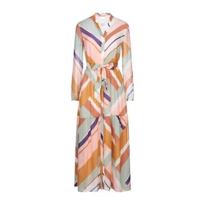 PENNYBLACK ロングワンピース&ドレス ライトピンク 38 レーヨン 100% ロングワンピース&ドレス