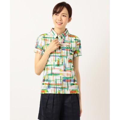 【WOMEN】【吸水速乾 / UV】菊地プロコラボ ポロシャツ