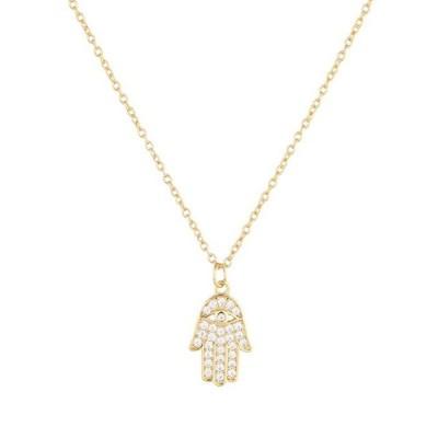 ペンダント ネックレス_レディース Hamsa Necklace (Gold)