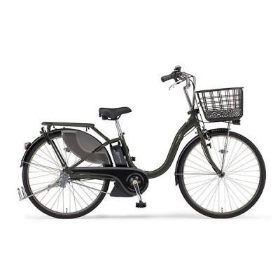 ヤマハ(YAMAHA) 電動アシスト自転車 PAS With SP PA26WSP マットダークグリーン
