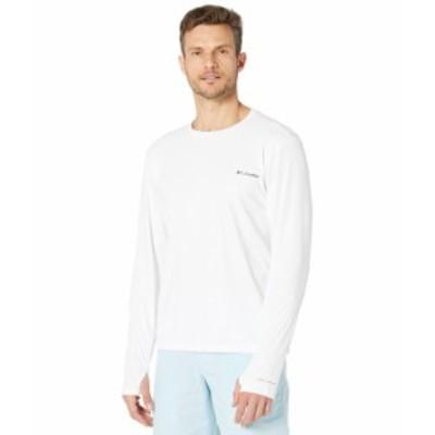コロンビア メンズ シャツ トップス Sun Deflector Summerdry¢ Long Sleeve Shirt White