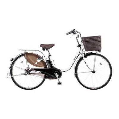 PANASONIC BE-ELD436-F アクティブホワイト ビビ・DX [電動アシスト自転車(24インチ・内装3段)]