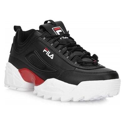 FILA [フィラ][メンズ] DISRUPTOR 2 LAB BLACK/FILA RED F0429-0014