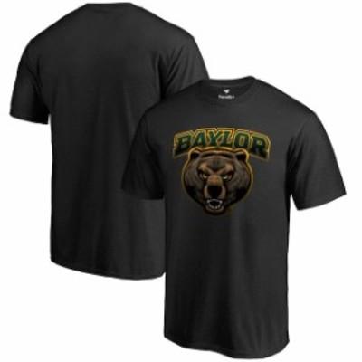 Fanatics Branded ファナティクス ブランド スポーツ用品  Fanatics Branded Baylor Bears Black Big & Tall Midnight Mascot T-Shirt