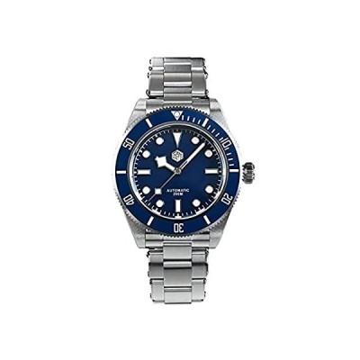 海外輸入品San Martin Upgrade SN008G V2 Stainless Steel Dive Men's Watch Retro Water G