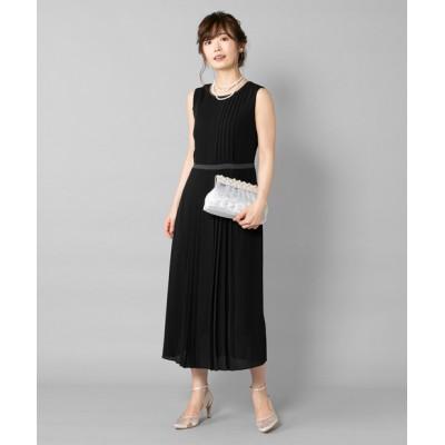 【WEB限定】配色リボンパイピングワンピースドレス
