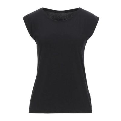ISSEY MIYAKE トップス  レディースファッション  トップス  Tシャツ、カットソー  半袖 ブラック
