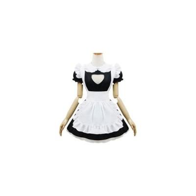 メイド服 コスチューム かわいい ミニスカート コスプレ衣装h2007