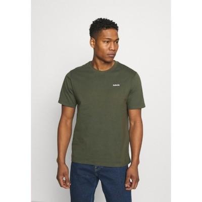 リーバイス Tシャツ メンズ トップス LOGO TEE UNISEX - Basic T-shirt - greens