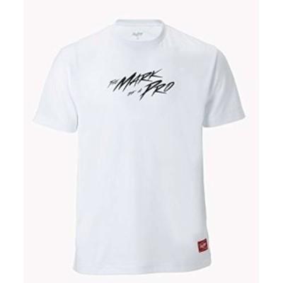 ローリングス(Rawlings) 野球用 Mark of a pro Tシャツ AST10F04 ホワイト サイズ S