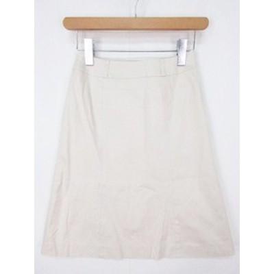 【中古】プロポーション ボディドレッシング PROPORTION BODY DRESSING スカート タイト 膝丈 1 ベージュ at0090 レディース