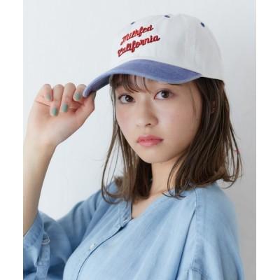 MILKFED. / BICOLOR CAP WOMEN 帽子 > キャップ