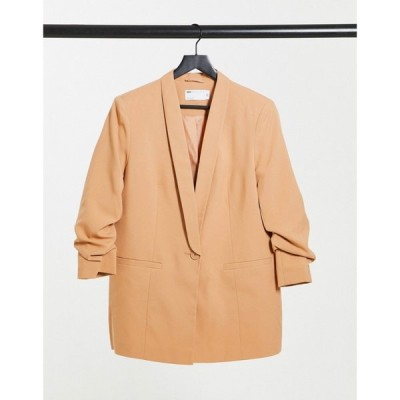 エイソス ASOS DESIGN レディース スーツ・ジャケット アウター mix & match tailored suit blazer in blush ベビーピンク