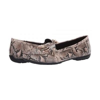 Anne Klein アン クライン レディース 女性用 シューズ 靴 ローファー ボートシューズ Obara - Black/Natural