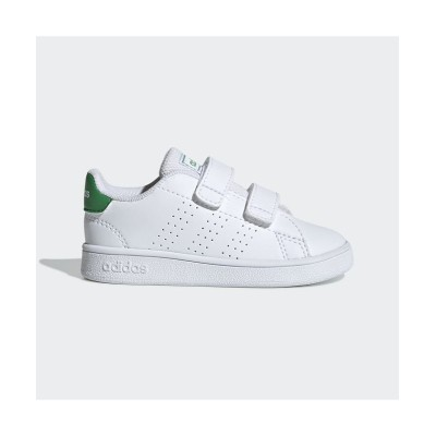 (adidas/アディダス)子供用 アドバンテージ [Advantage Shoes]/キッズ ホワイト