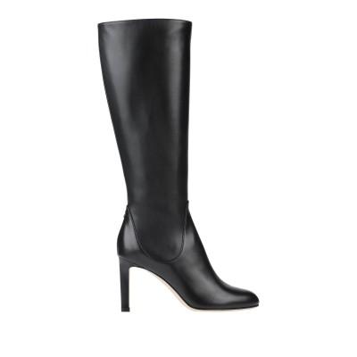 JIMMY CHOO ブーツ ブラック 35.5 牛革(カーフ) ブーツ