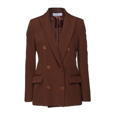 カオス KAOS テーラードジャケット ブラウン 44 ポリエステル 90% / ポリウレタン 10% テーラードジャケット