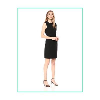 Theory Women's Fitted Sleeveless Dress, Black, 0並行輸入品