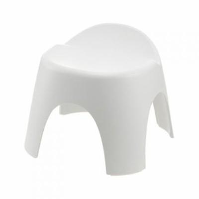 リッチェル アライス 腰かけ 25H ホワイト│お風呂用品・バスグッズ バスチェアー・風呂椅子