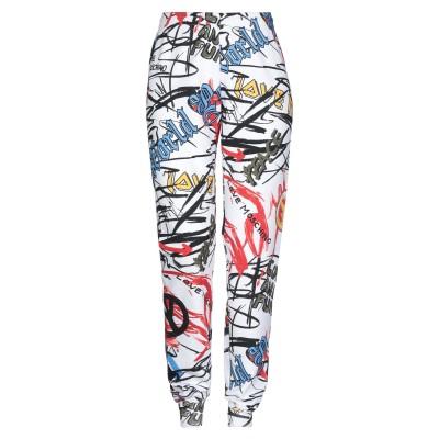 ラブ モスキーノ LOVE MOSCHINO パンツ ホワイト 38 コットン 100% / ポリウレタン パンツ